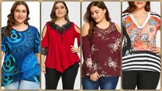 Office clothing to choose from for the woman that you are Office Outfits, Office Wear, Office Clothing, Summer Tops, Comfortable Outfits, Cheap Clothes, Plus Size Outfits, Looks Great, Floral Tops