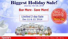 Biggest Holiday Sale! | Save More! -  Curcumin, MultiVitamins - Omega-3, Vitamin K, B-12, D3 http://www.physiciannaturals.com/discount-coupon.html