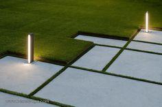 32 Fadura Dwellings / Erredeeme formal lawn paving steppers
