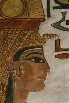 NEFERTARI La más bella de todas Su tumba , el valle de las reinas , Luxor. Photo: Mahmoud Hassan. Shared by Edith Cruz