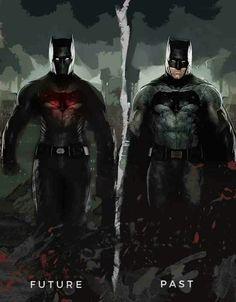 Batman; future, past.