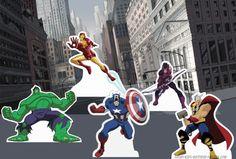 Free Superhero Printables - The #Avengers printable game.