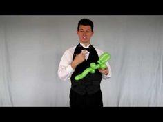 Balloon Library #12 Balloon Animal Instructions for Simple Alligator - YouTube