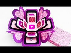 Exploding Boxcard Tutorial (Heart Base & Layering Making) - YouTube