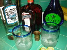 Margarita recipe with notes about tequila quality