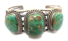 Old Pawn Navajo Handmade Sterling Silver Royston Turquoise Bracelet - Signed R | Jewelry & Watches, Ethnic, Regional & Tribal, Native American | eBay!