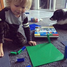 K got right to work building towers with this Strictly Briks set from Tryazon! Then followed it up with a meltdown because there were no cars in the box like there were in the box photo. When he got up this morning, he asked to check the box again for cars. He's convinced there are cars somewhere! Today's Blog: Toddlers Don't Understand Advertising. Link in bio!  .  .  .  #ontheblog #ontheblogtoday #linkinbio #tryazon #strictlybriks #tryabox #toddlerlife #toddler #momlife…