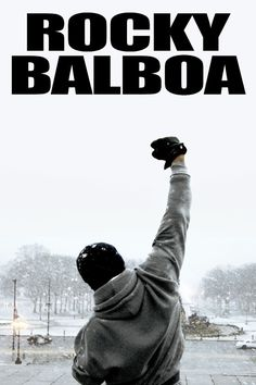 Rocky Balboa Movie Poster Wall Bar Galaxy Space by Vitaminchik321