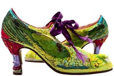Caroline Groves Women's Bespoke Shoes and Bags - Icarus