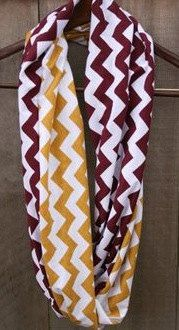FSU Florida State Seminoles Chevron scarf 2014 BCS National Champions on Etsy, $30.00
