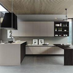 Cucina: contenere di più con tanti pensili o pensili grandi - Cose di Casa
