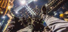 Diesen Ausblick genossen zwei Extremkletterer aus Russland wohl am Wochenende von der Spitze des Kölner Doms aus