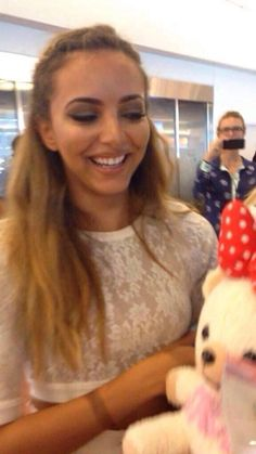 So cute! I guess this is the girls getting gifts at their arrival in Japan :) x