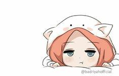 Girl Cartoon, Cartoon Art, Hijab Drawing, Islamic Cartoon, Anime Galaxy, Hijab Cartoon, Art Antique, Islamic Girl, Cartoon Sketches