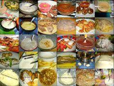 Cinco sentidos na cozinha: 30 sugestões de molhos (para carne, peixe, massas,...