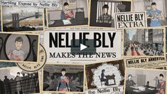 'NELLIE BLY MAKES THE NEWS' is an animated documentary about the legendary journalist who changed the game for women in reporting before women even had… South Cyprus, Arnold Schwarzenegger Movies, Political Equality, Hollywood Action Movies, Bollywood Music Videos, Nellie Bly, Hollywood Hotel, Dj Songs, New York Girls