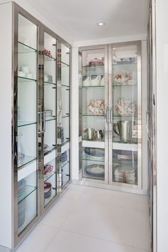 The Run Down on Farmhouse Pantry Decor Ideas And Design Revealed - neweradecor Kitchen Pantry Design, Kitchen Organisation, Modern Kitchen Design, Home Decor Kitchen, Interior Design Kitchen, Kitchenette Design, Organization, Crockery Cabinet, Glass Kitchen Cabinets