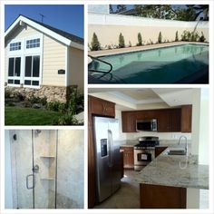 Just sold this remodeled 3bd/2ba home in Cypress, CA. Complete with a pool, granite counters and travertine floors.