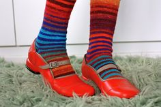 Feeling Fluevog-y by Yarny Old Kim, via Flickr