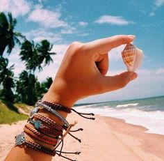 )Even the smallest counch shell will have the sound of the ocean...and that s all you need to know ..it's all here ..little but fierce)