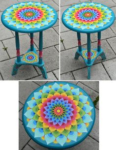 Painting Wooden Furniture How To Make Home Furniture Modern Hand Painted Chairs, Whimsical Painted Furniture, Painting Wooden Furniture, Funky Furniture, Repurposed Furniture, Furniture Projects, Furniture Makeover, Furniture Stores, Antique Furniture