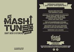 mash-tun-norwich-flyer-design-graphics-advertising-craft-beer-pub.jpg By Norwich based design agency Creative Giant http://www.creativegiant.co.uk