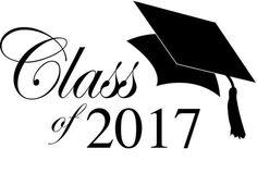 Graduation Class of 2017   Class of 2017 Graduation Clip Art 2   Free TheRoyalStore Clip Art