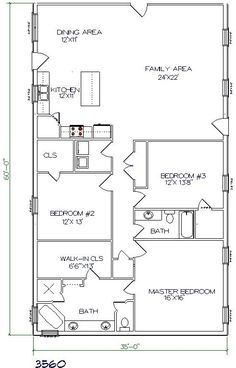 Living quarters in our barn? Maybe a good plan. Texas Barndominiums, Texas Metal Homes, Texas Steel Homes, Texas Barn Homes, Barndominium Floor Plans by lizzie