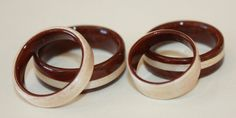 Wooden Rings by Touch Wood Rings, A Photo Gallery