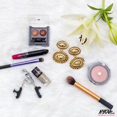 Metallic Mania // #BlingItOn  #Nykaa #Makeup #Beauty # # #Lakme #Maybelline #Rimmel #RealTechniques #InstaLike #New /