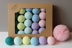 Cotton Balls Morning Glow 10 szt. - MIA-home-passion - Lampki