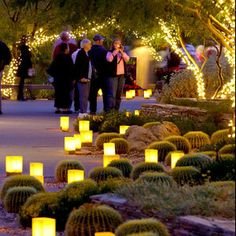 9 Must-See Christmas Lights Displays | Las Noches de las Luminarias in Phoenix, AZ
