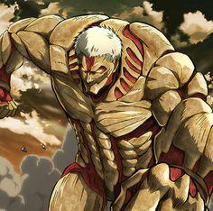 Armored Titan Warrior of Marley Reiner Braun Shingeki no kyojin season 2