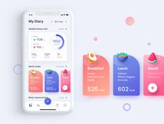 ioFit - Diet & Training App UI Kit — UI Kits on The Effective Pictures We Offer You About android App Design A quality picture can tell you many things. You can find the most beautiful pictures th Interaktives Design, App Ui Design, Best App Design, Flat Design, Design Layout, Dashboard Design, Graphic Design, Application Ui Design, Application Mobile
