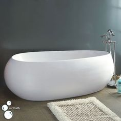 Sidonia Acrylic Freestanding Air Bath Tub   Priced From: $3487.95