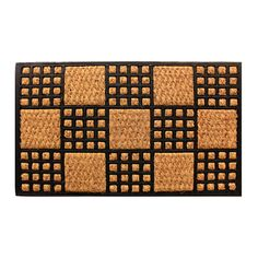 Amber Home Goods Cuboid Floormat Size 28 x 16 Entrance Rug, Coir, Step Inside, Building Materials, Sustainable Living, Gifts For Friends, Indoor Outdoor, Home Goods, Great Gifts