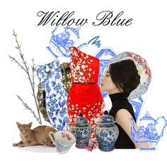 Willow Blue, created by kathy-martenson-sanko.polyvore.com