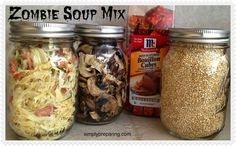Zombie Soup: Dry Soup Mix For Emergency Prepardness