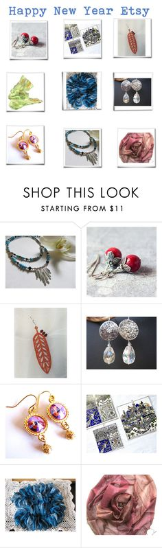 """""""Happy New Year Etsy"""" by belladonnasjoy ❤ liked on Polyvore"""