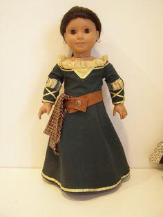 Princess Merida by Susansdollcreations on Etsy