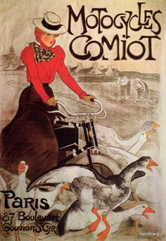 1899 Poster by Theophile Steinlen