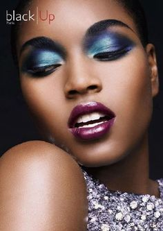 How To Choose Makeup And Eye Colors For Your Dark Skin Tone « Black Skin Care – Natural Hair Care – African American Skin Dark Skin Makeup, Dark Skin Beauty, Black Beauty, Purple Lipstick, Lipstick Colors, Lip Colors, Berry Lipstick, Natural Makeup Looks, Simple Makeup