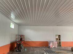 Tiffin, Ohio. Post Frame Building, Building Code, Tiffin Ohio, Frame Layout, Pole Buildings, Metal Siding, Pole Barns, Interior, Metal Fence