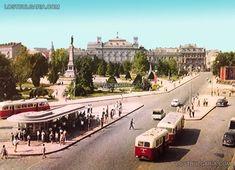 Русе, централната част на града, 50-те години на ХХ век