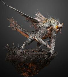 Ragnosaur – 3D Art – Breakdowns by Eric Wilkinson | CGVILLA