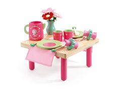 Djeco -  Le déjeuner de Lili Rose #djeco #dinette #fille #jouet #cadeaux #naissance #bébé