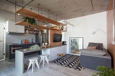 """68 curtidas, 3 comentários - Casa 100 Arquitetura (@casa100arquitetura) no Instagram: """"Apto das divisorias @guimorelli"""""""