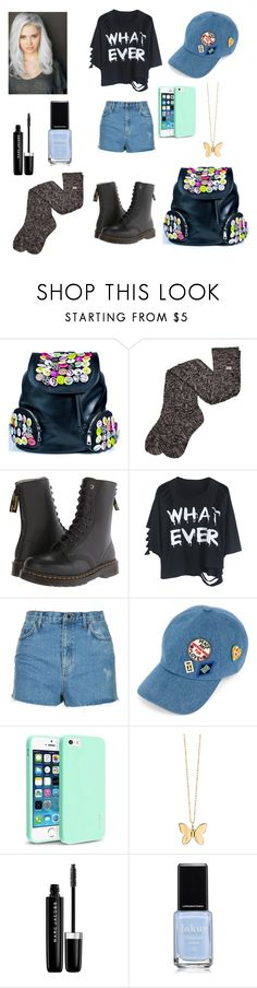 """""""💙"""" by karla-renne on Polyvore featuring Current Mood, UGG, Y's by Yohji Yamamoto, Topshop, Tommy Hilfiger, Insten, Sydney Evan and Marc Jacobs"""