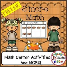 Camping Math 10 Frames Smore Center This FREEBIE Can Be Used