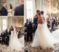 Leeds castle wedding, Leeds castle wedding ceremony, best UK wedding venues, happy couple, wedding photos